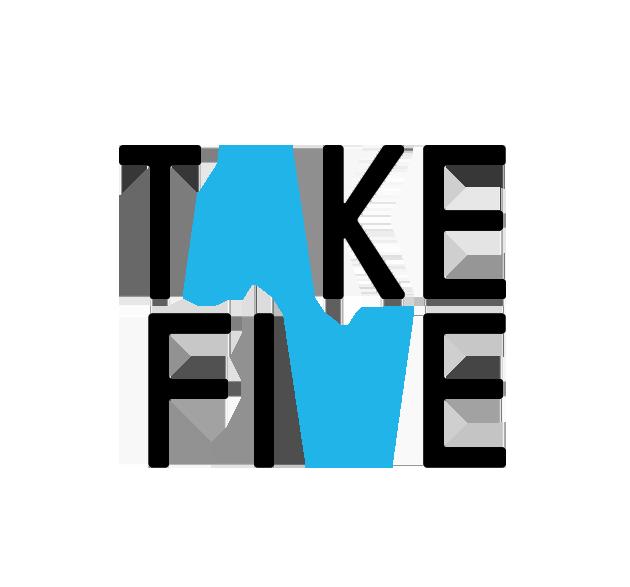 Take5  Logo design for the Droga5 mentorship program.
