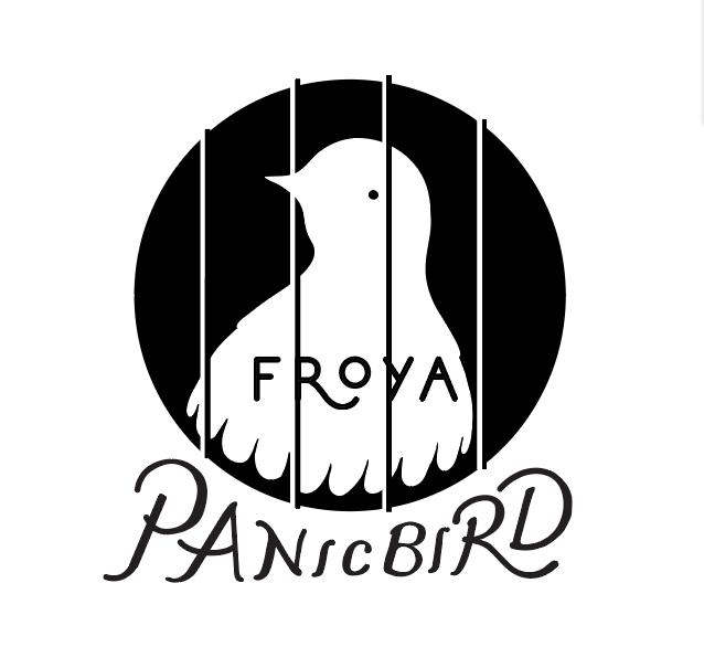 Froya  Panic Bird teeshirt logo