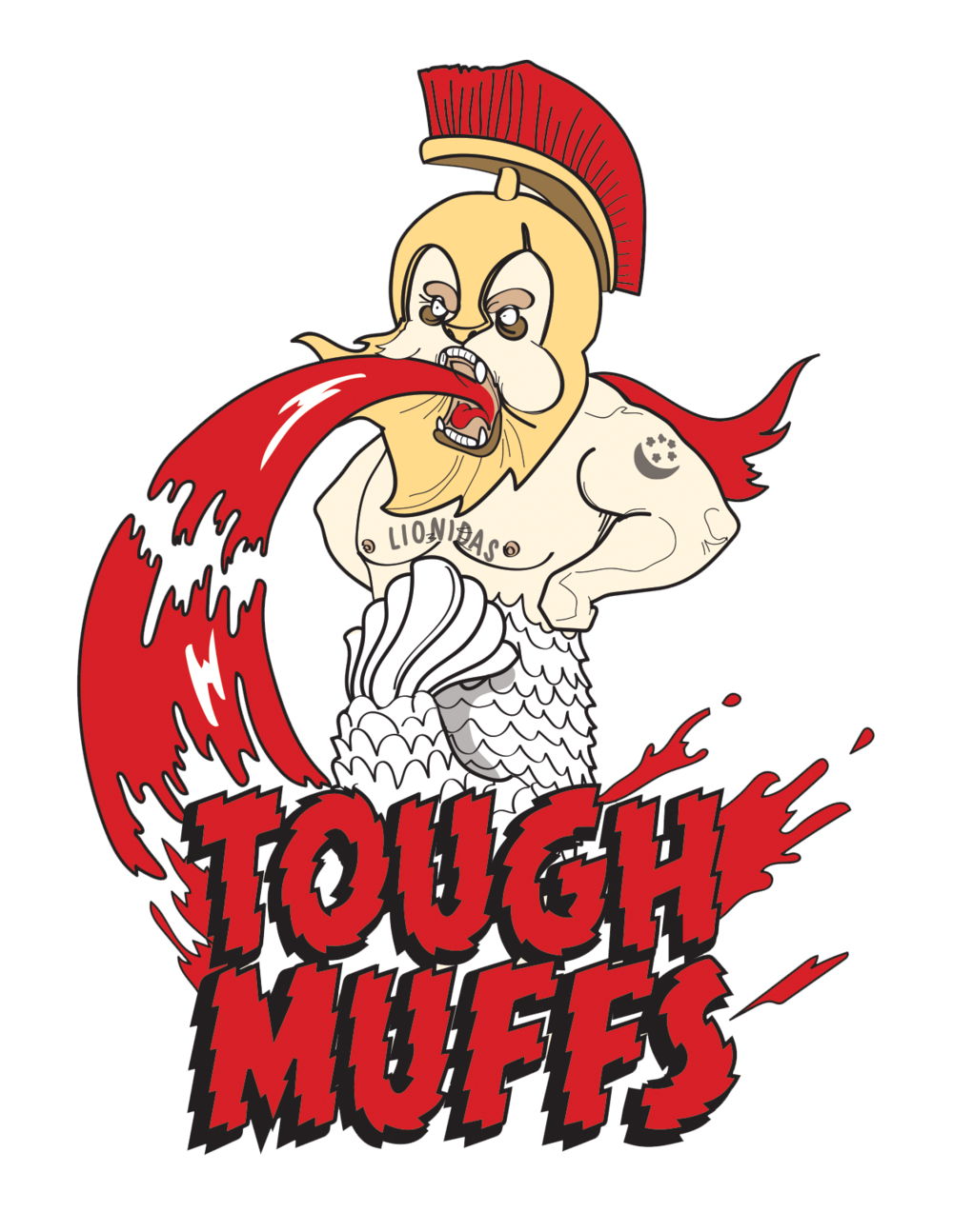 The Tough Muffs  My Friend's Spartan racing team. Don't interrogate thing too much or it'll puke blood on you too.