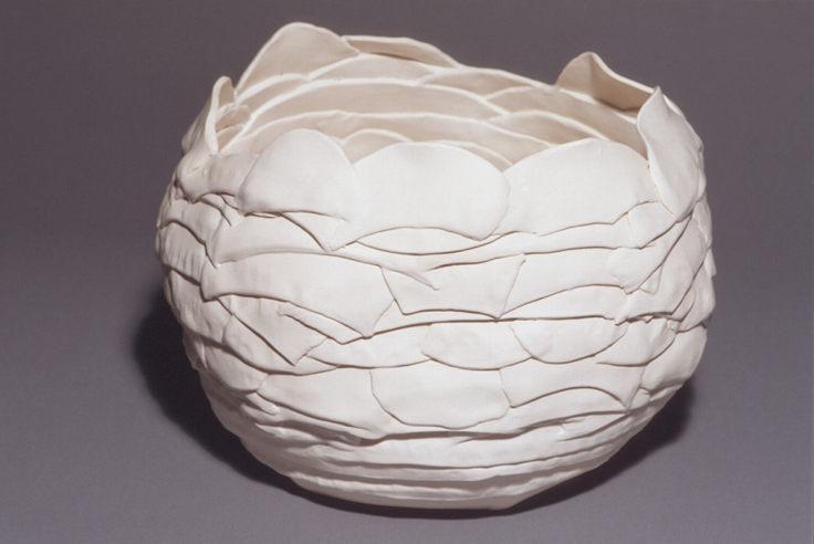 White Petal Pot #2