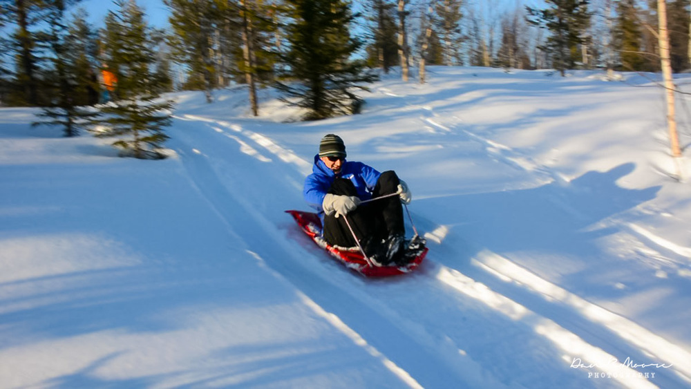 Copy of Downhill sledding