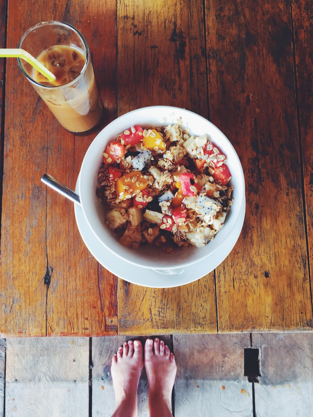 Breakfast on Koh Rong Samloem