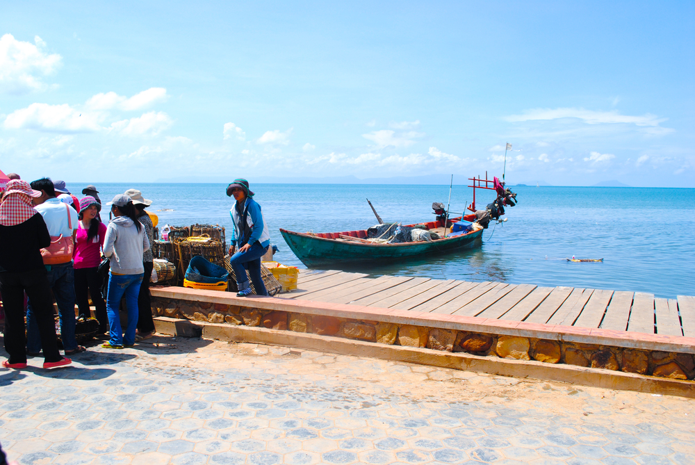 The Kep Crab Market