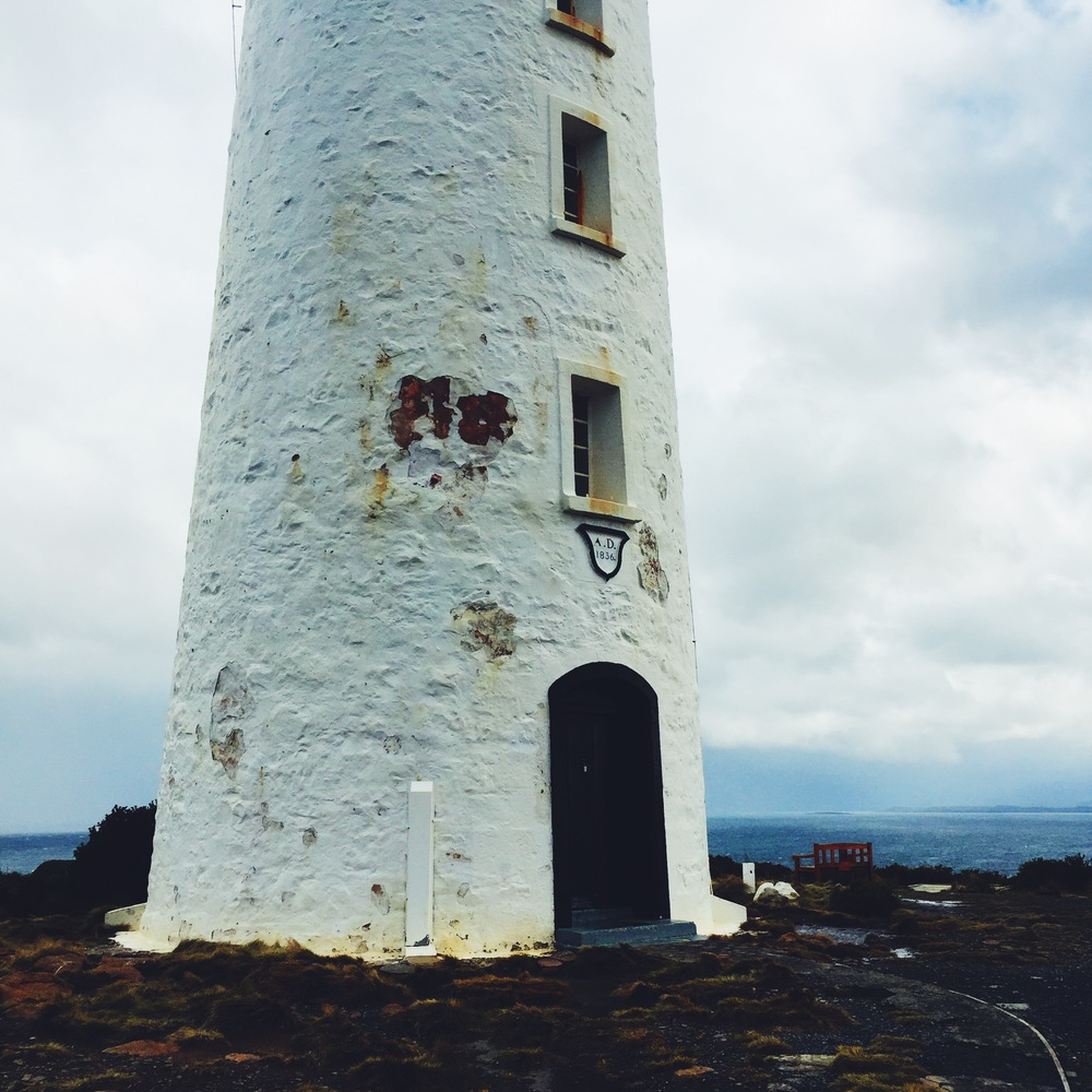 The Cape Bruny lighthouse
