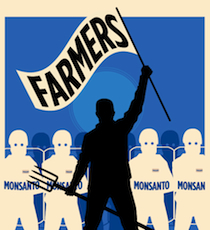 On January 31, family farmers will take part in the first phase of a court case filed to protect farmers from genetic trespass by Monsanto's GMO seed, which contaminates organic and non-GMO farmer's crops and opens them up to abusive lawsuits. In the past two decades, Monsanto's seed monopoly has grown so powerful that they control the genetics of nearly 90% of five major commodity crops including corn, soybeans, cotton, canola and sugar beets.   In many cases farmers are forced to stop growing certain crops to avoid genetic contamination and potential lawsuits. Between 1997 and 2010, Monsanto admits to filing 144 lawsuits against America's family farmers, while settling another 700 out of court for undisclosed amounts. Due to these aggressive lawsuits, Monsanto has created an atmosphere of fear in rural America and driven dozens of farmers into bankruptcy. Please join us in standing up for family farmers everywhere against Monsanto's abusive seed monopoly.