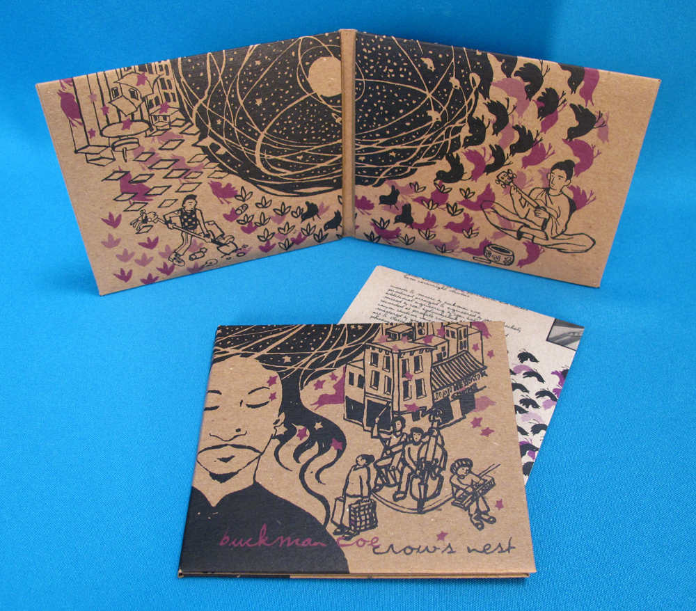 Crow's Nest is being released in stores today and is available across Canada. This first run are numbered limited edition prints from Stumptown Printers, and as you can see look quite lovely. The ep has Motown, Reggae, Folk and Psychedelia on it, which is almost as many genres as there songs! The release party is this  Friday at the Electric Owl  in Vancouver.