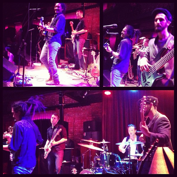 Thanks to all who came out to make Saturday night a roots rawking good time! It was a late one, so much gratitude for dancing until 3am everyone. Sunday was a full-recovery day of stretching and soothing my ringing ears, Adam wasn't joking when he said he was going to hit the kit hard and everyone followed that energy with roaring solos, deep bass, and fat horn lines. Watasun and Tatiana Speed killed it earlier in the evening, love you folks. Big Love to Tom from the Boom Booms and Adam Scott Baile for jumping up and singing One Love at the end of the night with us. Cheers Ian Is for the Instagram montage, Photos from Habana Productions to follow along with Live Videos from Green Couch Sessions.