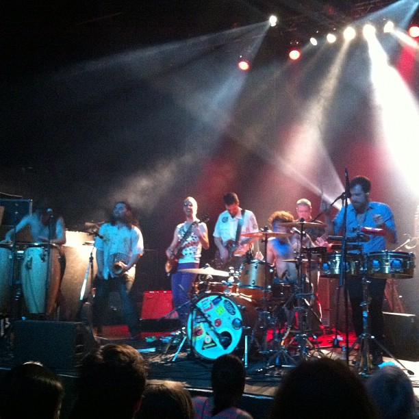 @fivealarmfunk melted our minds last night (at Rickshaw Theatre)