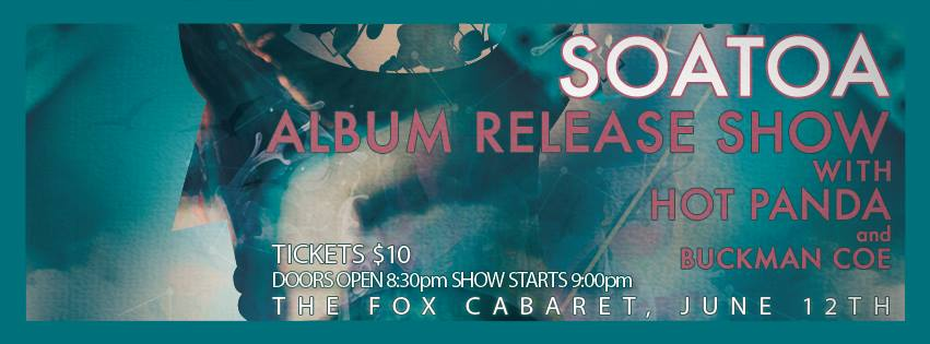 My good buddy Tom Heuckendorff, who recorded a bunch of tracks on my new record, has his own great band. He's having a CD release this Thursday at the Fox Cabaret, and we're stoked to be supporting this achievement with him!! https://www.facebook.com/events/733919146665826/