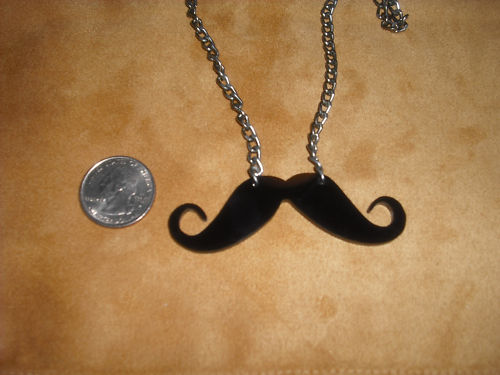 wickedclothes :        GIVEAWAY: MUSTACHE NECKLACE!        WickedCloth.es   is having a  reblog contest ! To enter:    Follow   WickedCloth.es      Reblog this post, in its entirety,  once .    Winner gets a  mustache necklace ! Winner will be picked on July 2nd by random drawing of all who entered.     I want a moustache necklace! …at least I think i do :{)