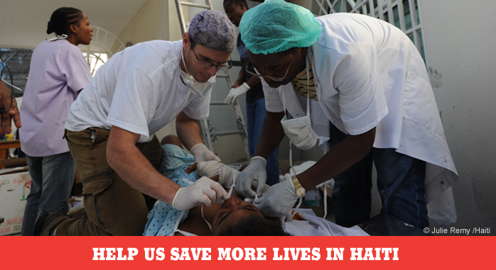 doctorswithoutborders :     As we mark the anniversary of one of the worst humanitarian emergencies in history, your gift now to Doctors Without Borders can continue to help not only the men, women, and children in Haiti, but also those caught in crises around the world.  Please help us save lives in Haiti and in more than 60 countries around the world by sending a donation today.  Thank you.