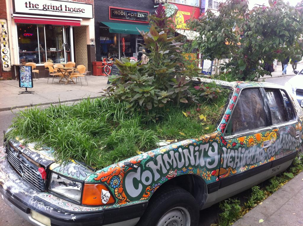 Community Vehicular Reclamation Project - Kensington Market, Toronto