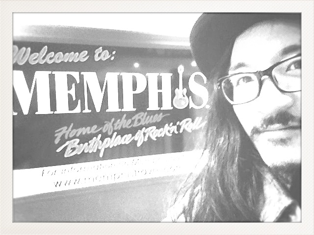 Arrived Wednesday morning to the birthplace of rock and roll! Sleepy but happy. Ran into Doug Cox and shared a taxi into downtown. Him to Marriott Hotel where the conference is and me to the slightly trashy Econo Lodge. After a shower I made my way through the depressed downtown core, made friends with the small but dedicated Occupy Memphis encampment. Played my first tune in Memphis for them between their tarp covered tents.