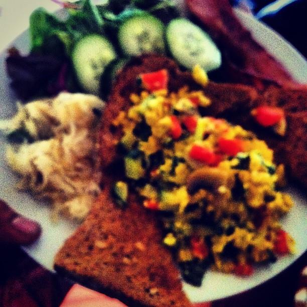 Best breakfast ever, thank you Robin (Taken with  instagram )