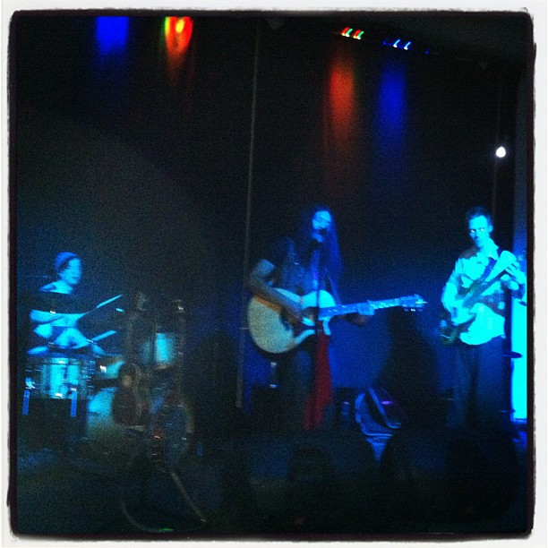 Our show in Nelson turned into a psychedelic dub and folk experiment with lots of dancing and sing-along songs. (Taken with  instagram )