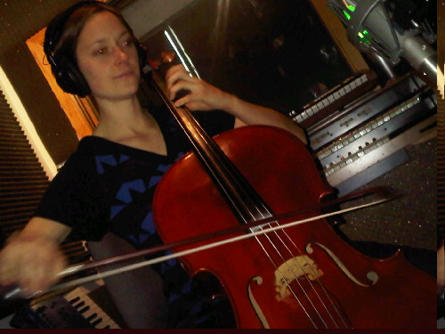Christina Zippy Zaenker plays a mean cello, by mean I mean sweet, perfectly in key and powerful yet mellow