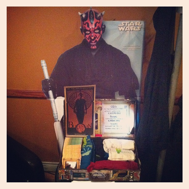 Darth Maul is my merch girl (Taken with  instagram )