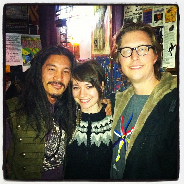 at Times Change(d) with Demetra Penner and Jason Arkley (Taken with  instagram )
