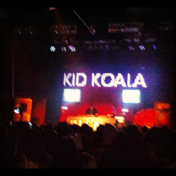 Kid Koala's 16-bit blues tour. An amazing record btw, live he's absolutely incredible! (at Venue)