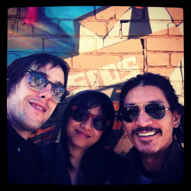 Mary Ancheta, Sam Cartwright and Buckman Coe. The trio comes together in Toronto! (Taken with  instagram )