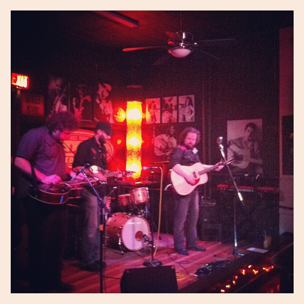 Peter Pritchard's band opening at the Elmdale House in Ottawa (Taken with  instagram )