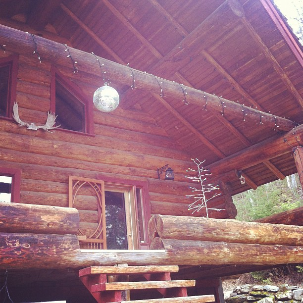 Disco Ball Kootenay Style (Taken with  instagram )