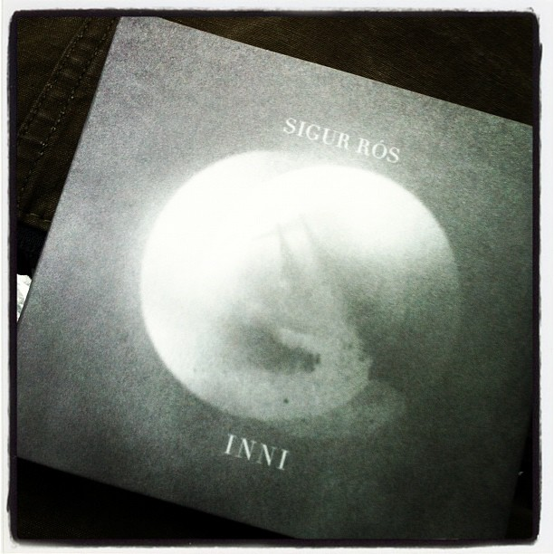 Falling back in love with Sigur Ros. Got their new live album with dvd from Highlife today. (Taken with  instagram )