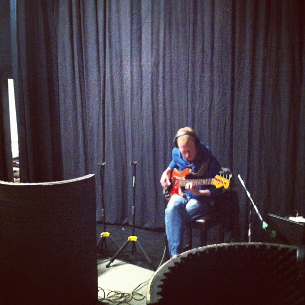Michael Rush playing on Stubborn Man (Taken with instagram)