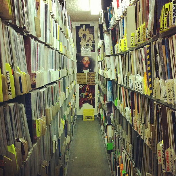 At Recordland in Calgary. LP Heaven!!!! (Taken with instagram)