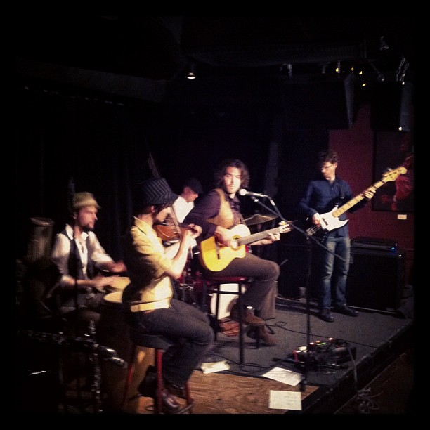 Tambura Rasa at the Jazz Cellar (Taken with  instagram )