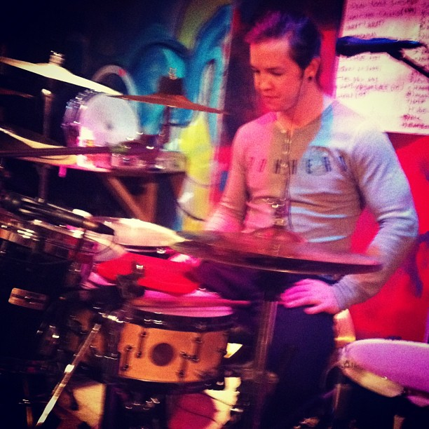 Mr. Adam Parent at rehearsal last night.