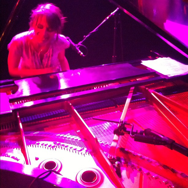 @ManaMaddy rocking the Steinway at Triple Door (Taken with  Instagram )