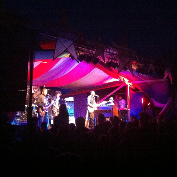 Dumpstaphunk at Starbelly Jam…. Oh My God!!!  (Taken with  Instagram )