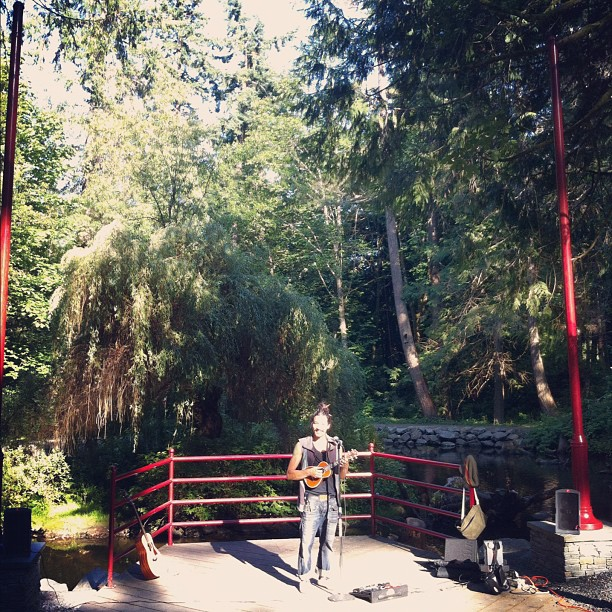 Playing tonight at Concerts in the Park in Nanaimo  (Taken with  Instagram )