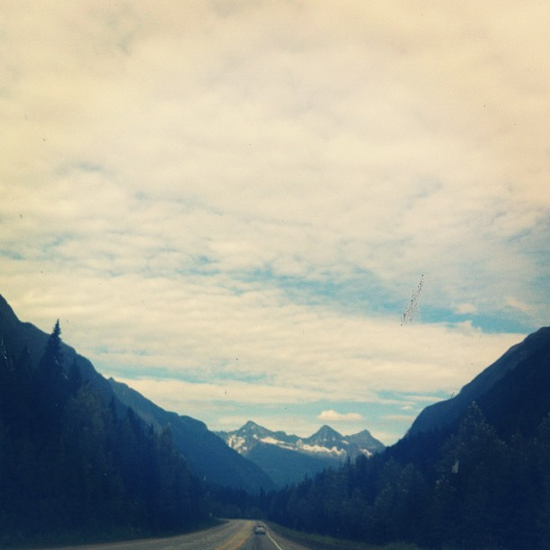 A lovely day of driving from Shushwap to Invermere (Taken with  Instagram )