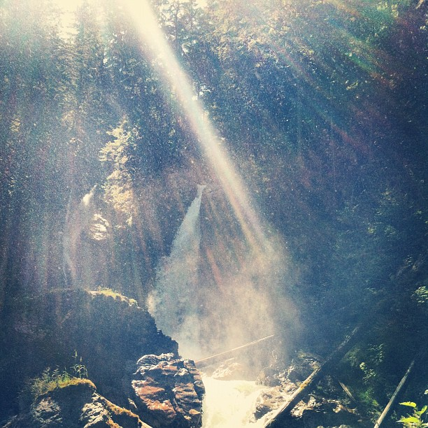 Begbie Falls just outside of Revelstoke (Taken with  Instagram )