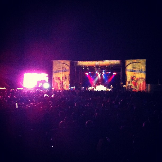 Robert Randolph Family Band at main stage (Taken with  Instagram )