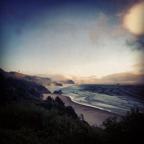 Near Seaside, Oregon. Surfing afternoon on the way home from Burning Man. (Taken with Instagram)