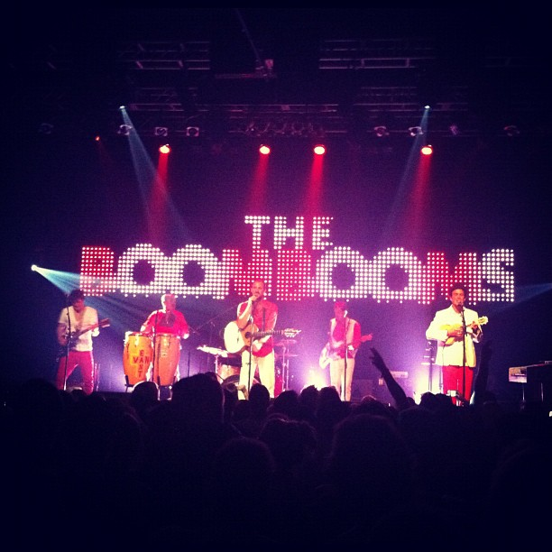 @theboombooms @venuelive Amazing show earlier this week, thanks boys for bringing the joy (at Venue)