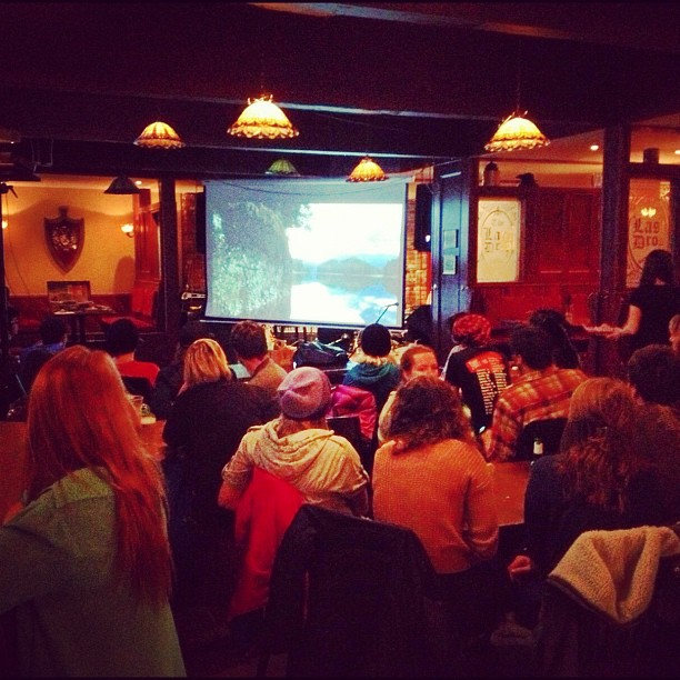 Our showing of @raincoast 's #groundswell documentary @thelastdrop went incredibly well. Apparently the pub has never been that quiet!!! (at The Last Drop)