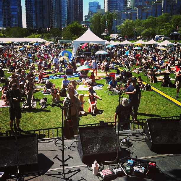 Thank you Jazz Fest and all you dancers & lovers (at David Lam Park)