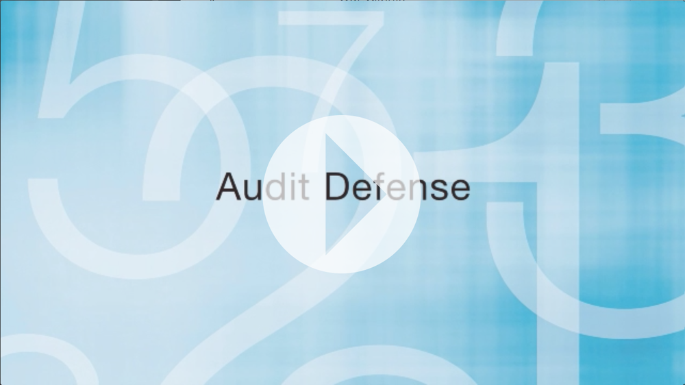 Audit Defense Overview by Mike Carlson