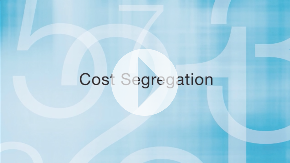 Cost Segregation Overview by Mike Carlson