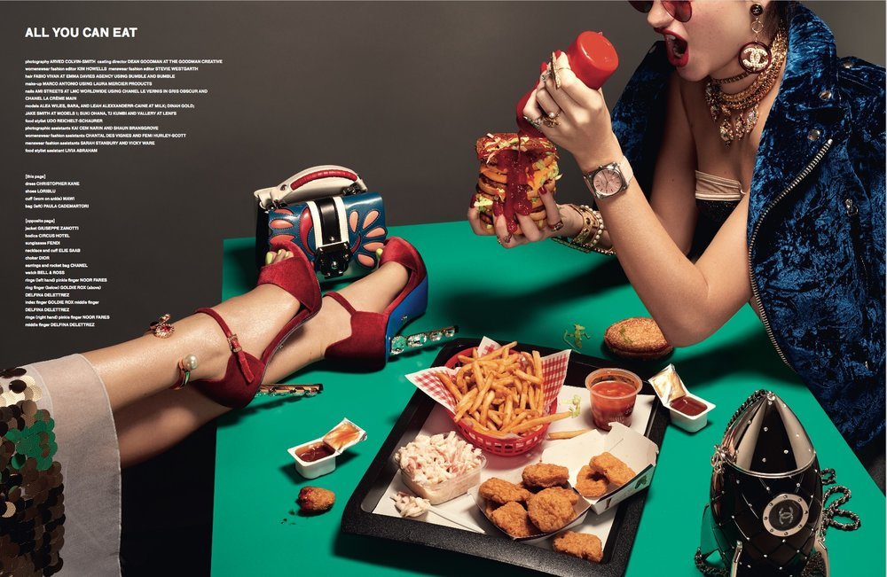 HUNGER MAGAZINE OCT 17 Feat. French Fry Ring