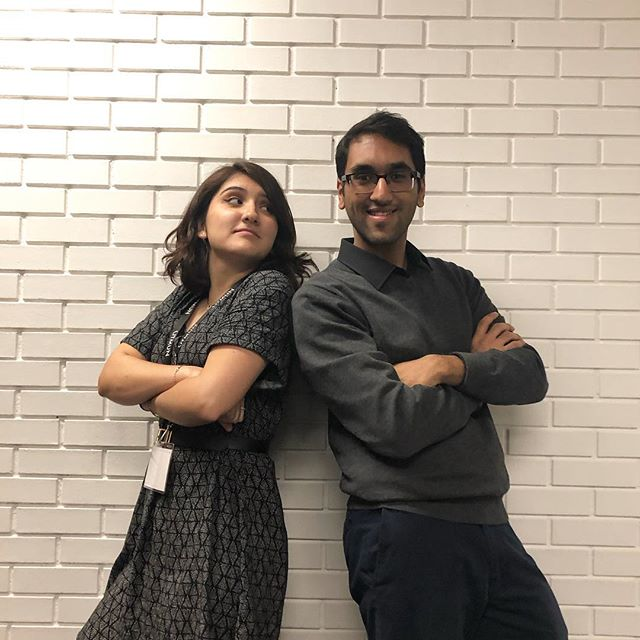 "Hey UTMUN! We pride ourselves for our close relationships between the Secretariat and Staff. ""Anvesh is the worst Director ever."" - Mariajosé Moreno, Vice Director of OAS ""I only hire the worst."" - Anvesh Jain, Director of the Specialized Committees"
