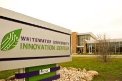 Launch Pad Scholars receive office space in the state of the art Whitewater University Innovation Center where they can also collaborate with other entrepreneurs.