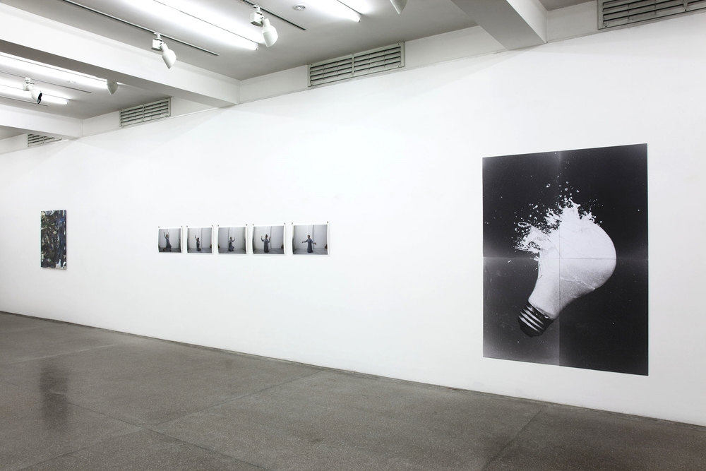 Installation view, The British School at Rome