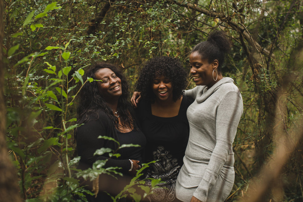 THE JONES SISTERS //FAMILY PORTRAITS -