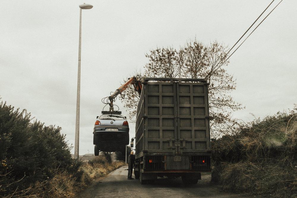 - Irish tow-truck
