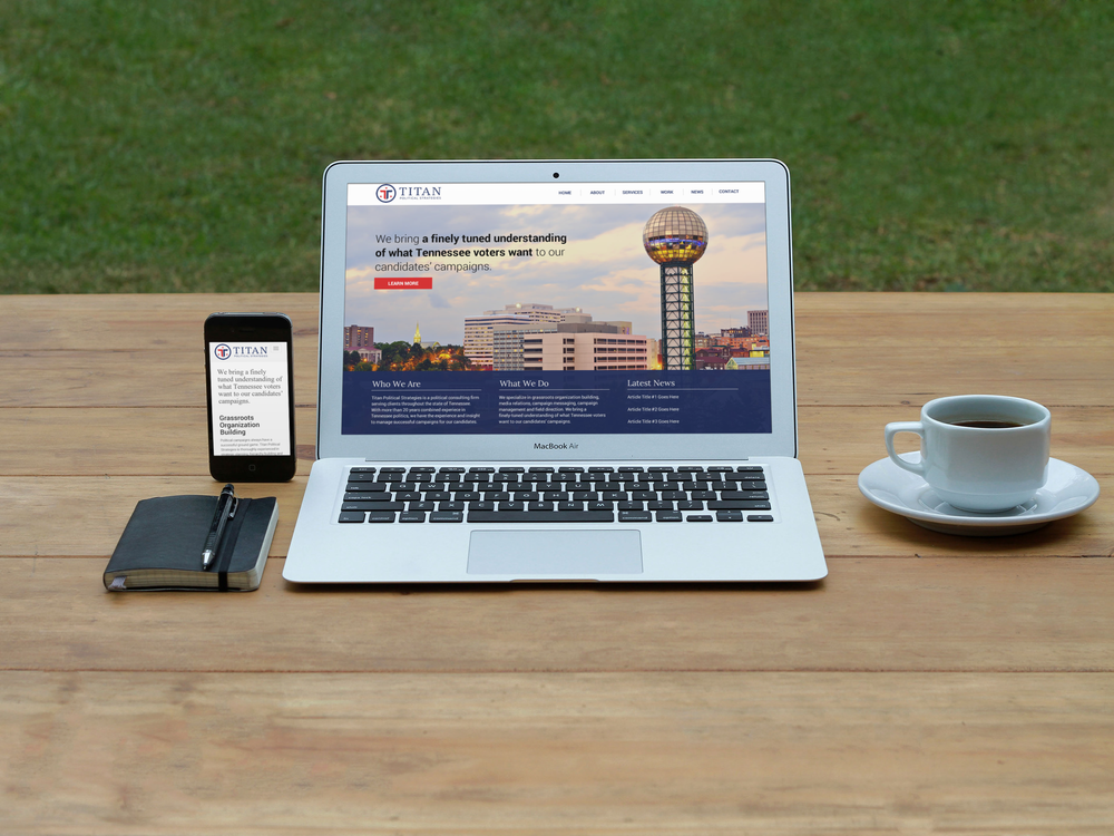 Titan Political Services Website    Services provided: Responsive Website Design & Development, Custom Wordpress Integration    Visit Site